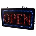 Señal Luminosa 'Open' Colgable (Cadena)