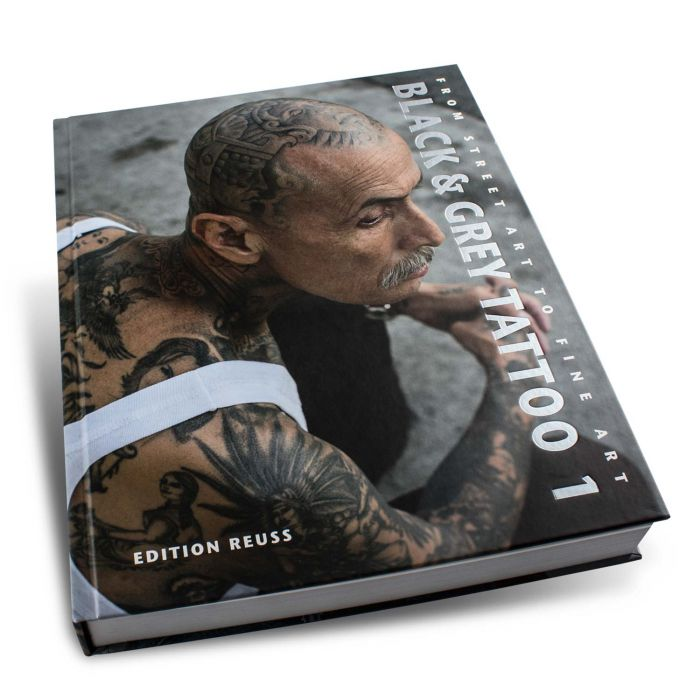 Libro Black & Grey Tattoo Book: 1 - Edition Reuss