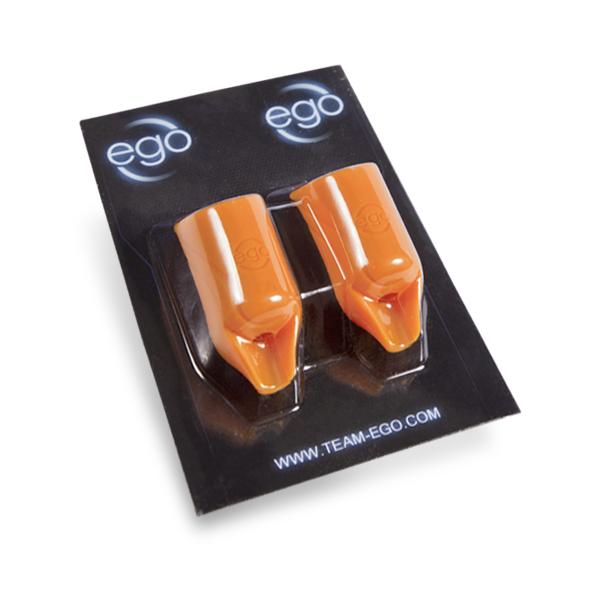 Conjunto De 2 Cubiertas Para Mangos 19MM De Silicona EGO Biogrips Rectos En Negro