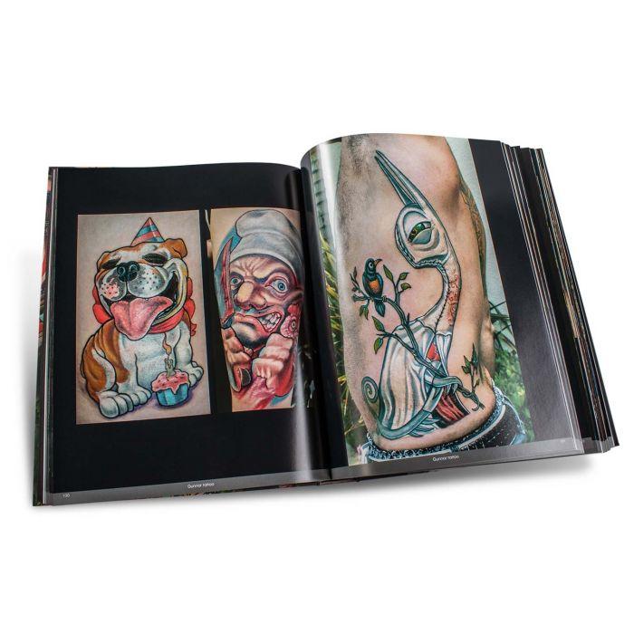 Libro Color Tattoo Art Book: Comics, Cartoon, Pin-Up, Manga + New School - Edition Reuss