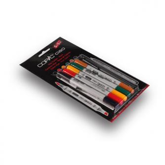 Rotuladores Copic CIAO - Hues - Paquete De 5+1