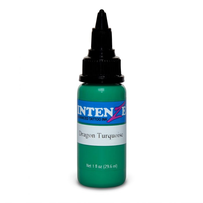 Tinta Tatuaje Intenze Ink Dragon Turquoise 30ml (1oz)