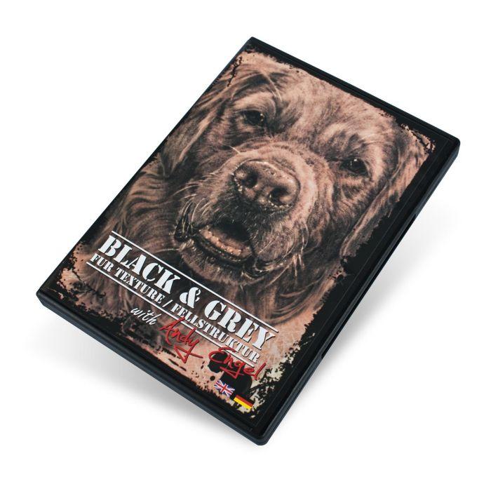 DVD Andy Engel Black & Grey Fur Texture