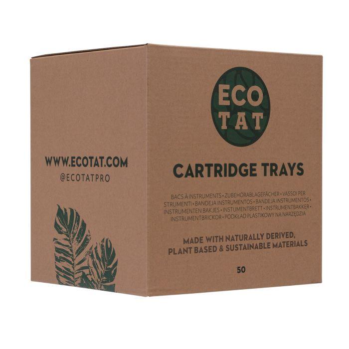 Caja de 50 Bandejas Para Cartuchos de ECOTAT