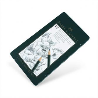 Faber-Castell - Caja De Lata Con 12 Lápices Castell 9000 Art Set