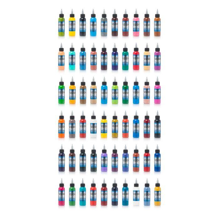 Conjunto De 60 Tintas Fusion Ink