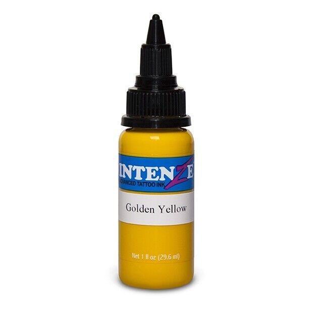 Tinta Tatuaje Intenze Ink Basic Golden Yellow 30ml (1oz)