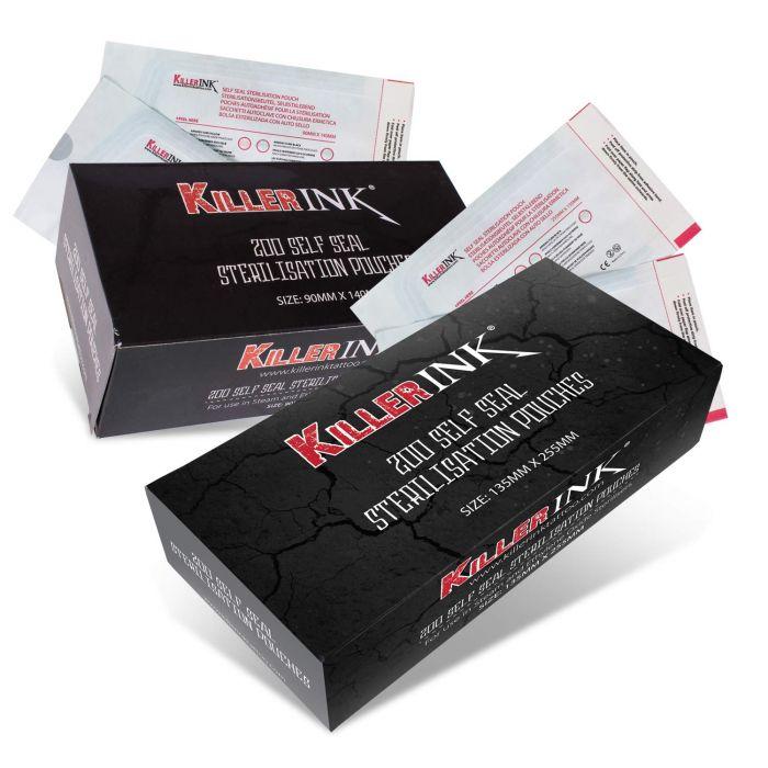 Caja De 200 Bolsas Para Esterilización En Autoclave Killer Ink