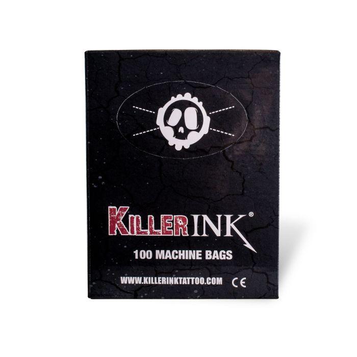 Caja De 100 Fundas Protectoras Killer Ink Para Máquinas De Tatuaje