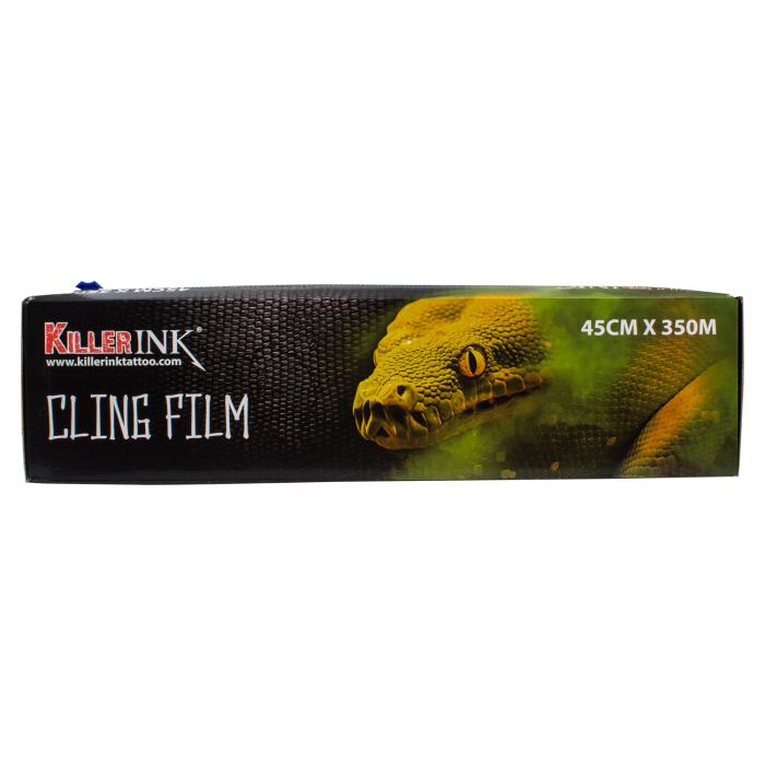 Rollo Dispensador De Film Killer Ink Con Corte Fácil 350m X 45cm