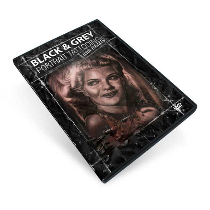 DVD Remis Black & Grey Portrait Tattooing