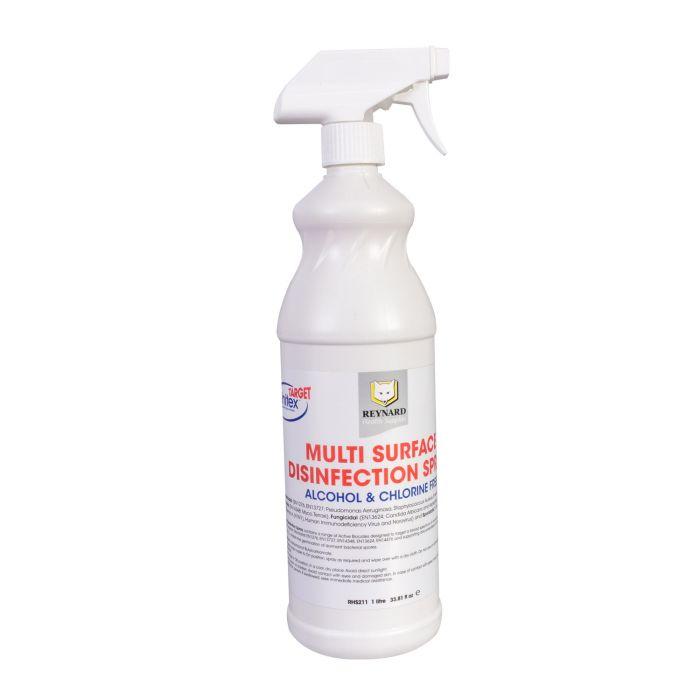 Espray Desinfectante Superficies Múltiples Reynard - Sin Alcohol O Cloro 1L