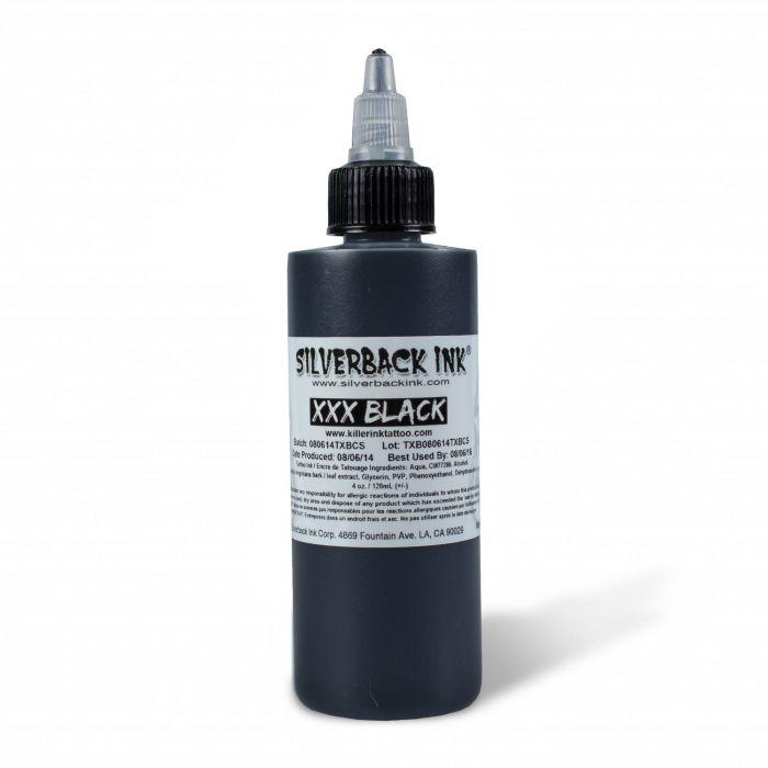 Tinta Tatuaje Silverback Ink® XXX Black 120ml (4oz)