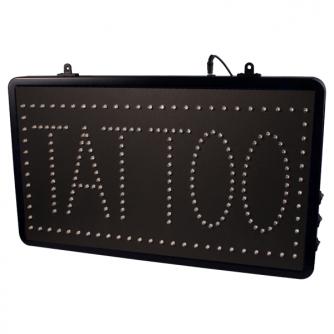 Señal LED 'TATTOO' Colgable Con Cadena