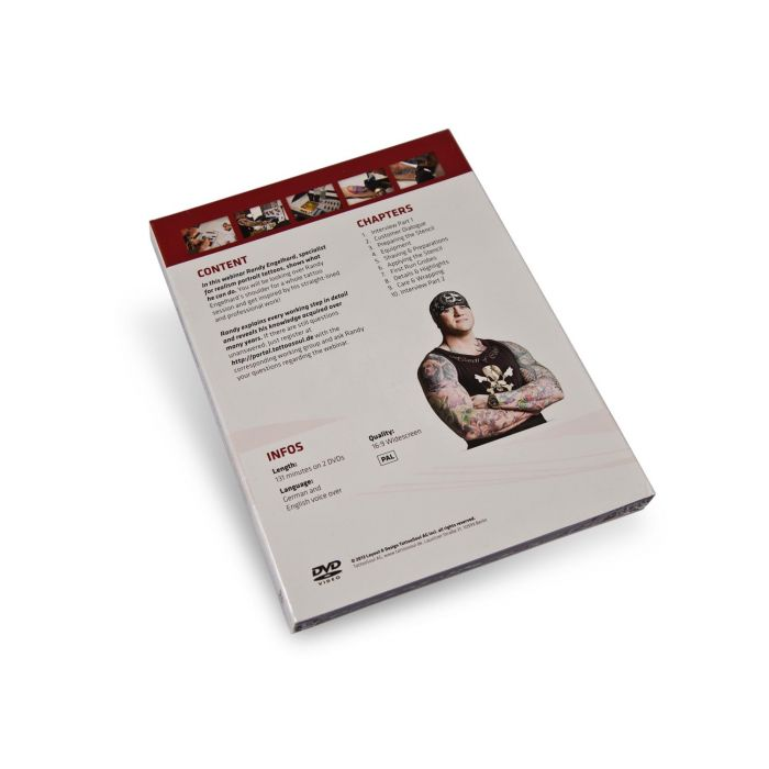 DVD Tattoosoul - Randy Engelhard