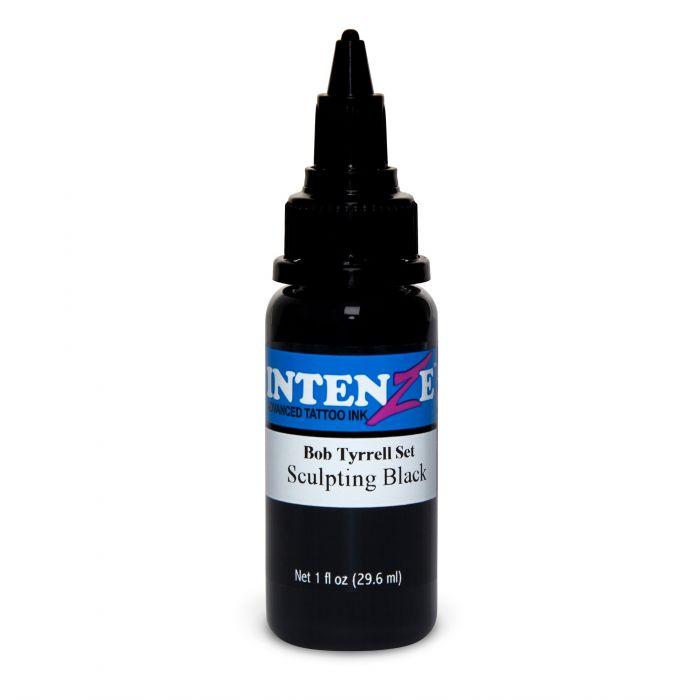 Tinta Tatuaje Intenze Ink Bob Tyrrell Sculpting Black 30ml (1oz)