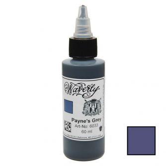 Tinta Dibujo WAVERLY Color Company Payne's Grey 60ml (2oz)
